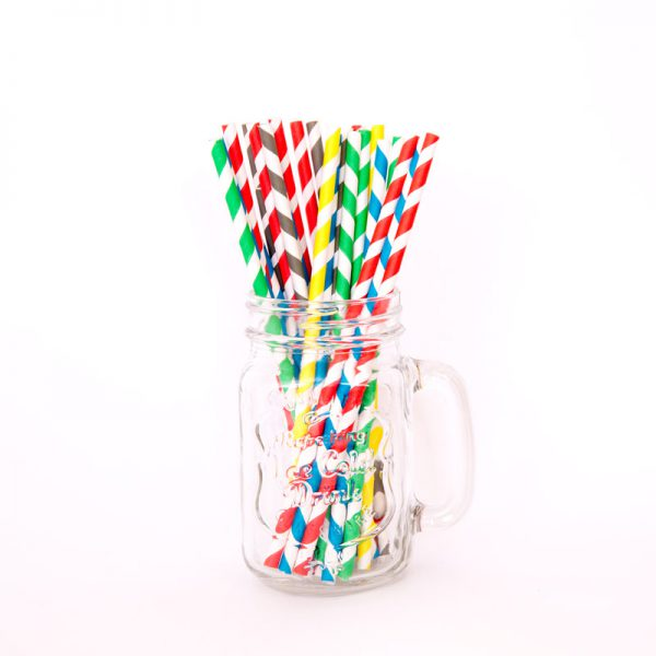 Rainbow Straws Colours Image